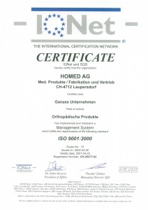 ISO 9001-Homed