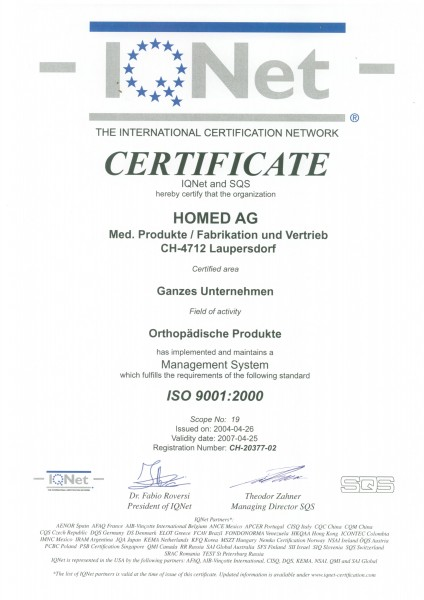 ISO 9001-Homed